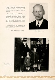 Page 12, 1943 Edition, Mars Hill College - Laurel Yearbook (Mars Hill, NC) online yearbook collection
