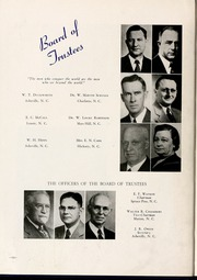 Page 16, 1945 Edition, Mars Hill College - Laurel Yearbook (Mars Hill, NC) online yearbook collection