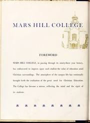 Page 10, 1948 Edition, Mars Hill College - Laurel Yearbook (Mars Hill, NC) online yearbook collection