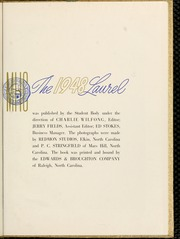 Page 5, 1948 Edition, Mars Hill College - Laurel Yearbook (Mars Hill, NC) online yearbook collection