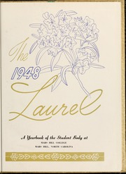 Page 7, 1948 Edition, Mars Hill College - Laurel Yearbook (Mars Hill, NC) online yearbook collection