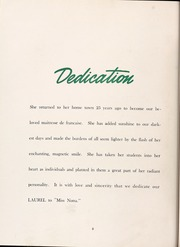 Page 12, 1949 Edition, Mars Hill College - Laurel Yearbook (Mars Hill, NC) online yearbook collection