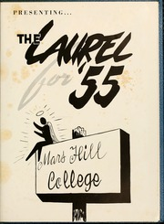 Page 5, 1955 Edition, Mars Hill College - Laurel Yearbook (Mars Hill, NC) online yearbook collection