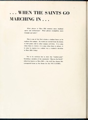 Page 8, 1955 Edition, Mars Hill College - Laurel Yearbook (Mars Hill, NC) online yearbook collection