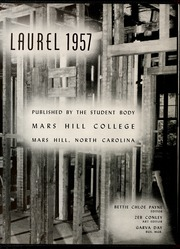 Page 10, 1957 Edition, Mars Hill College - Laurel Yearbook (Mars Hill, NC) online yearbook collection