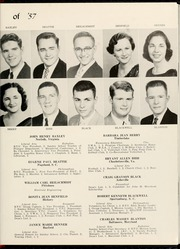 Page 15, 1957 Edition, Mars Hill College - Laurel Yearbook (Mars Hill, NC) online yearbook collection
