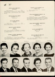 Page 17, 1957 Edition, Mars Hill College - Laurel Yearbook (Mars Hill, NC) online yearbook collection