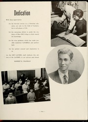 Page 9, 1957 Edition, Mars Hill College - Laurel Yearbook (Mars Hill, NC) online yearbook collection