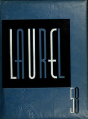 Page 1, 1958 Edition, Mars Hill College - Laurel Yearbook (Mars Hill, NC) online yearbook collection