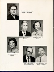 Page 14, 1960 Edition, Mars Hill College - Laurel Yearbook (Mars Hill, NC) online yearbook collection
