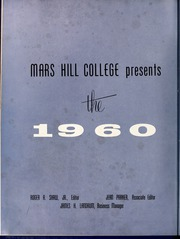 Page 6, 1960 Edition, Mars Hill College - Laurel Yearbook (Mars Hill, NC) online yearbook collection