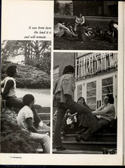 Page 10, 1974 Edition, Mars Hill College - Laurel Yearbook (Mars Hill, NC) online yearbook collection