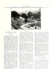 Page 13, 1926 Edition, Montreat College - Sundial Yearbook (Montreat, NC) online yearbook collection