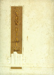 Page 1, 1939 Edition, Montreat College - Sundial Yearbook (Montreat, NC) online yearbook collection