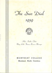 Page 5, 1939 Edition, Montreat College - Sundial Yearbook (Montreat, NC) online yearbook collection