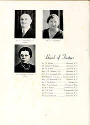 Page 8, 1939 Edition, Montreat College - Sundial Yearbook (Montreat, NC) online yearbook collection
