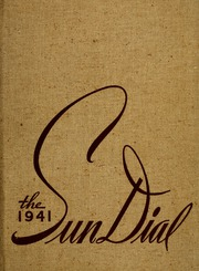 Page 1, 1941 Edition, Montreat College - Sundial Yearbook (Montreat, NC) online yearbook collection