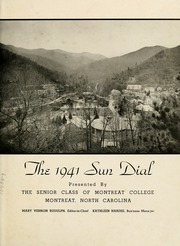 Page 5, 1941 Edition, Montreat College - Sundial Yearbook (Montreat, NC) online yearbook collection