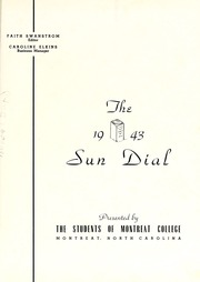 Page 5, 1943 Edition, Montreat College - Sundial Yearbook (Montreat, NC) online yearbook collection