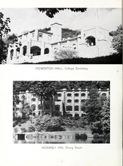 Page 10, 1956 Edition, Montreat College - Sundial Yearbook (Montreat, NC) online yearbook collection