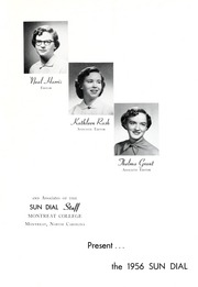 Page 5, 1956 Edition, Montreat College - Sundial Yearbook (Montreat, NC) online yearbook collection
