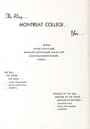 Page 6, 1956 Edition, Montreat College - Sundial Yearbook (Montreat, NC) online yearbook collection