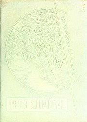 Page 1, 1959 Edition, Montreat College - Sundial Yearbook (Montreat, NC) online yearbook collection