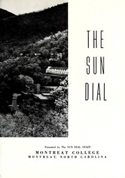 Page 7, 1959 Edition, Montreat College - Sundial Yearbook (Montreat, NC) online yearbook collection