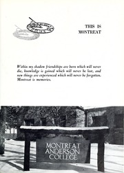Page 15, 1962 Edition, Montreat College - Sundial Yearbook (Montreat, NC) online yearbook collection