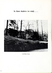 Page 16, 1962 Edition, Montreat College - Sundial Yearbook (Montreat, NC) online yearbook collection