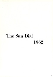 Page 5, 1962 Edition, Montreat College - Sundial Yearbook (Montreat, NC) online yearbook collection