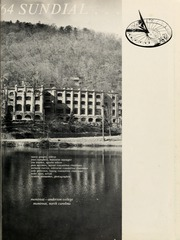 Page 5, 1964 Edition, Montreat College - Sundial Yearbook (Montreat, NC) online yearbook collection