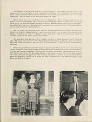 Page 7, 1964 Edition, Montreat College - Sundial Yearbook (Montreat, NC) online yearbook collection