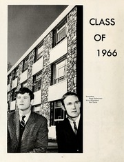 Page 16, 1966 Edition, Montreat College - Sundial Yearbook (Montreat, NC) online yearbook collection