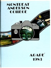 1983 Edition, Montreat College - Sundial Yearbook (Montreat, NC)