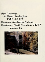 Page 5, 1988 Edition, Montreat College - Sundial Yearbook (Montreat, NC) online yearbook collection