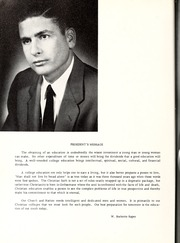 Page 10, 1957 Edition, Mount Olive College - Olive Leaves Yearbook (Mount Olive, NC) online yearbook collection