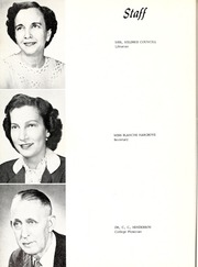 Page 14, 1957 Edition, Mount Olive College - Olive Leaves Yearbook (Mount Olive, NC) online yearbook collection