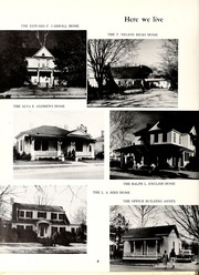 Page 10, 1960 Edition, Mount Olive College - Olive Leaves Yearbook (Mount Olive, NC) online yearbook collection