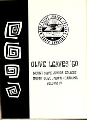 Page 5, 1960 Edition, Mount Olive College - Olive Leaves Yearbook (Mount Olive, NC) online yearbook collection