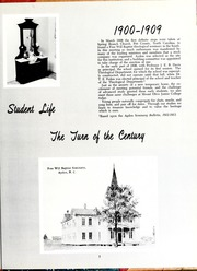 Page 11, 1961 Edition, Mount Olive College - Olive Leaves Yearbook (Mount Olive, NC) online yearbook collection