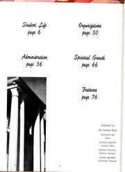 Page 6, 1961 Edition, Mount Olive College - Olive Leaves Yearbook (Mount Olive, NC) online yearbook collection