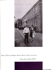 Page 5, 1964 Edition, Mount Olive College - Olive Leaves Yearbook (Mount Olive, NC) online yearbook collection