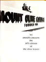 Page 5, 1971 Edition, Mount Olive College - Olive Leaves Yearbook (Mount Olive, NC) online yearbook collection