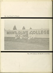 Page 6, 1978 Edition, Mount Olive College - Olive Leaves Yearbook (Mount Olive, NC) online yearbook collection