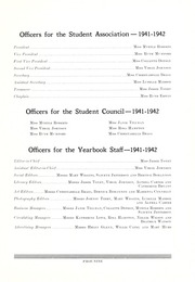 Page 11, 1942 Edition, St Augustines College - Falcon Yearbook (Raleigh, NC) online yearbook collection