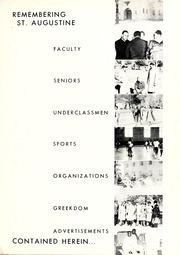 Page 7, 1958 Edition, St Augustines College - Falcon Yearbook (Raleigh, NC) online yearbook collection