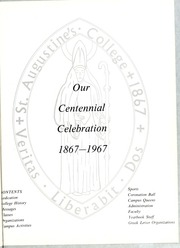 Page 5, 1967 Edition, St Augustines College - Falcon Yearbook (Raleigh, NC) online yearbook collection