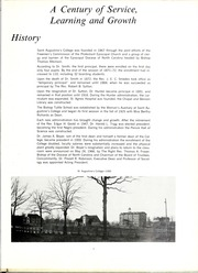 Page 7, 1967 Edition, St Augustines College - Falcon Yearbook (Raleigh, NC) online yearbook collection