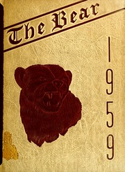 Page 1, 1959 Edition, Shaw University - Bear Yearbook (Raleigh, NC) online yearbook collection